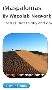 Llega iMaspalomas, la primera aplicación turística de Canarias para Apple