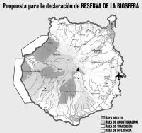 El Cabildo celebra que una parte de la Isla esté catalogada como Reserva de la Biosfera