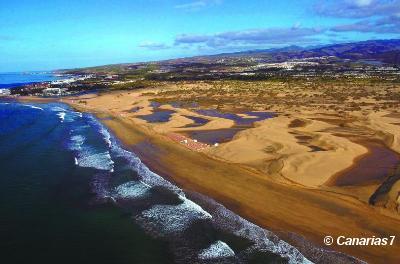 Las dunas de Maspalomas desaparecen sin que nuestro Cabildo, Ayuntamiento local y Gobierno de Canarias hagan nada serio por remediarlo