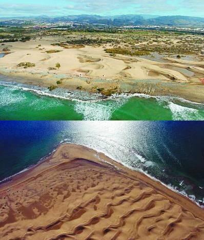 Los científicos se oponen a nuevos puertos deportivos para evitar la completa desaparición de las Dunas de Maspalomas