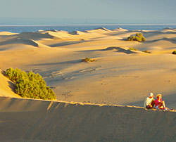Las dunas menguantes de Maspalomas