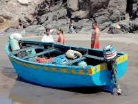 Una patera desembarca en Maspalomas a ocho inmigrantes que huyeron entre las dunas