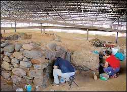El Cabildo proyecta reabrir el parque arqueológico de la Cueva Pintada el 26 de julio