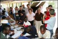 Manifestación racista en Tenerife contra menores inmigrantes africanos