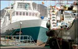 China confía a Gran Canaria la sede de su flota pesquera para Africa occidental