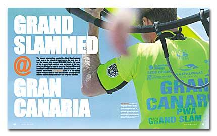 Promoción informativa mundial de Gran Canaria gracias al Campeonato de Windsurf de Pozo Izquierdo