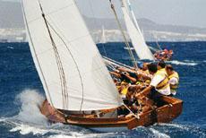 La supervivencia de la vela latina canaria de botes