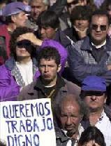 Canarias se mantiene entre las tres primeras regiones con mayor índice de paro con 113.000 desempleados