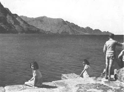 El puerto de Las Nieves (Agaete) en 1940