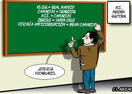 El vocabulario de ATI-Coalición Canaria
