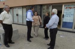 La policía revisa la reforma de la nueva sede del PP en Telde