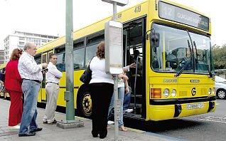 Por la falta de inversión y mala política de estos últimos años el transporte público pierde 10 millones de viajeros en Gran Canaria