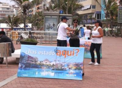 Criticas a la promoción de Tenerife en Las Canteras