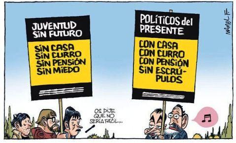 """""""Sí se puede"""" dá ejemplo para hacer desaparecer los privilegios de la clase política canaria"""