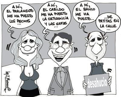 """Las """"ayudas"""" a nuestros políticos"""