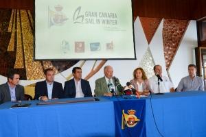 """El Real Club Náutico de Gran Canaria presenta su proyecto """"Gran Canaria Sail in Winter"""""""