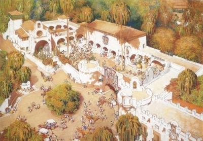 """El """"Pueblo Canario"""", declarado Bien de Interés Cultural (BIC)"""
