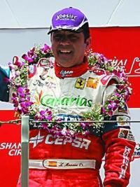El piloto Luis Monzón anuncia su retirada definitiva de la competición automovilística