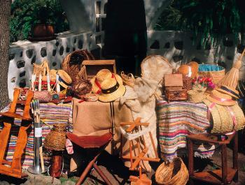 Valsequillo recupera las tiendas de aceite y vinagre en el día de sus tradiciones
