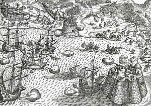 Cuatro cañonazos contra Francis Drake