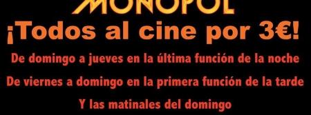 Multicines Monopol pone el cine al alcance de todos