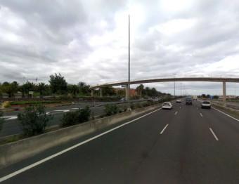 El Cabildo iniciará este martes en Telde las obras de embellecimiento de los márgenes de la autopista GC-1