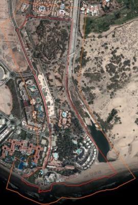 El Cabildo de Gran Canaria modificará el linde del BIC del Oasis de Maspalomas porque divide algunas propiedades