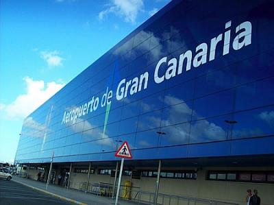 Aeropuerto de Gran Canaria para rato