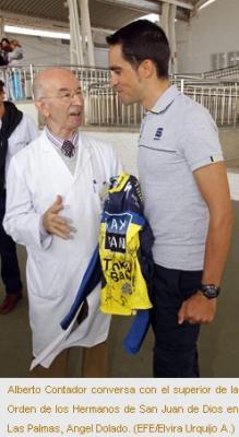 Contador entrena en Gran Canaria para Tour y Vuelta