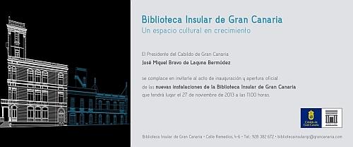 La nueva Biblioteca Insular de Gran Canaria abre sus puertas
