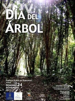 Más de un millar de personas participan en la plantación  organizada por el Cabildo de Gran Canaria con motivo del  44º Día del Árbol