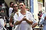 El actor cubano Alexis Valdés rueda su primer largometraje como director en Gran Canaria