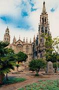 La 'catedral' de Arucas, en los cupones de la Organización Nacional de Ciegos