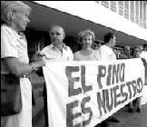 """""""El Pino es Nuestro"""" amenaza con endurecer las acciones si no se asigna presupuesto para las obras"""