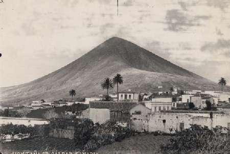 La montaña de Gáldar hacia 1895