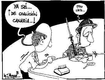 """La """"guerra"""" de Coalición Canaria"""