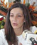 La viceconsejera de Turismo y Transportes del Gobierno de Canarias, Pilar Parejo, traslada la Viceconsejería desde Gran Canaria a Tenerife
