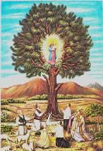La Virgen une a los grancanarios